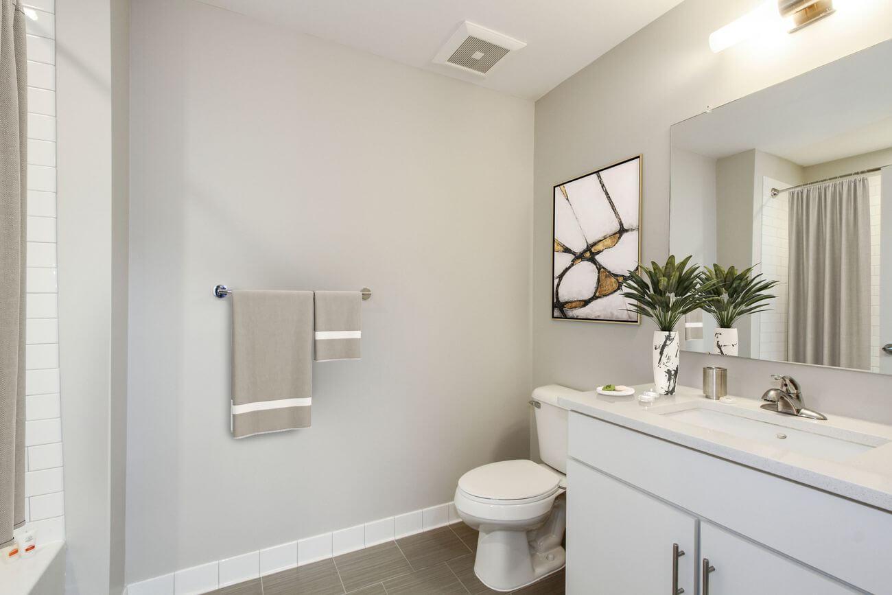 The Isle luxury apartment bathroom
