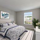 The Isle luxury apartment Bedroom view