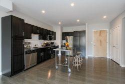 The Isle luxury apartment Kitchen area
