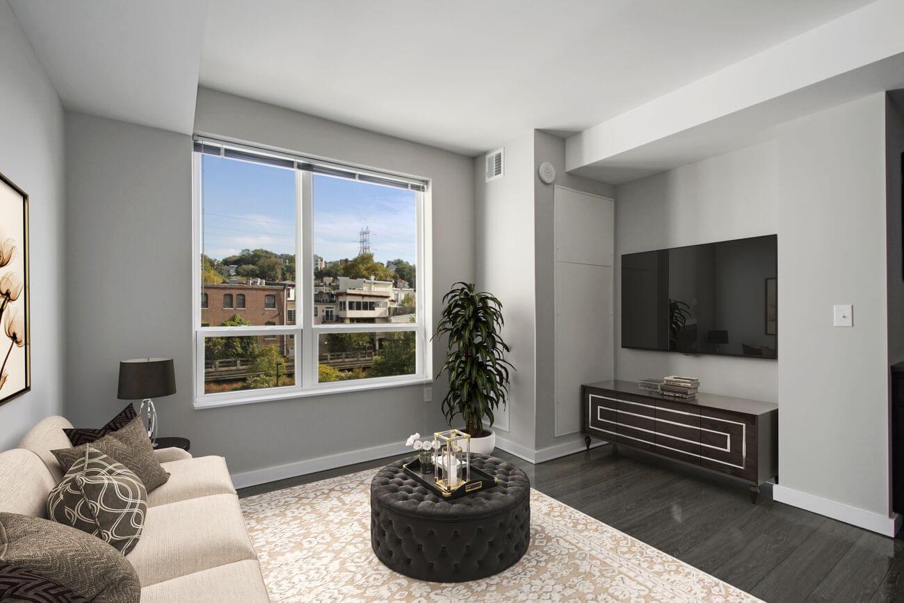 The Isle luxury apartment Living Room